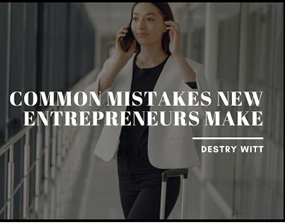 Common Mistakes New Entrepreneurs Make