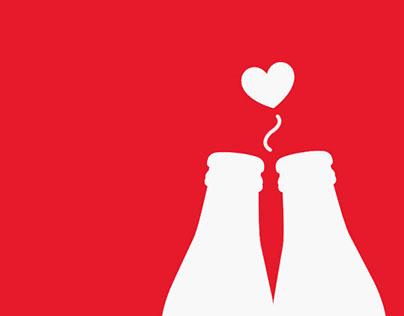 Coca cola - interações criativas
