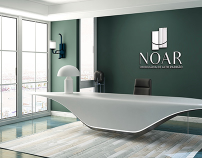 Logo e Identidade Visual Noar Imobiliária Alto Padrão
