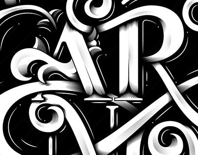 ARTNOUVEAU // Lettering