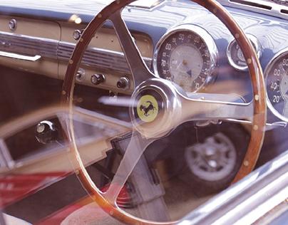 Old-timer Ferrari