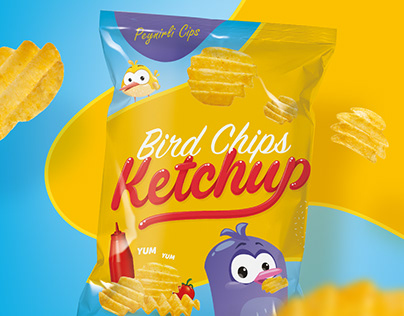 Bird Chips Packaging