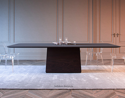 """""""BALANCE"""" The design of the table"""