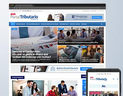 Web Design Portal Tributario