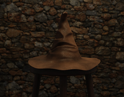 Sorting Hat - Low Poly