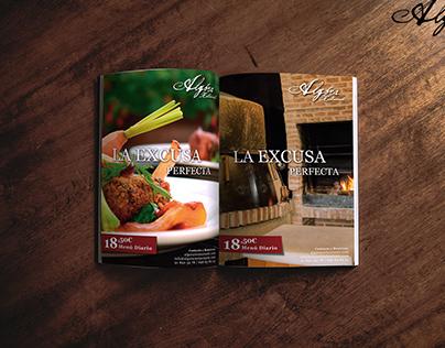 Publicidad Revista Algora Restaurante
