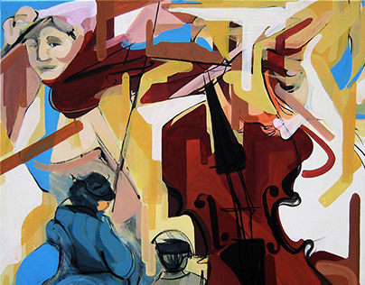 Musicians paintings