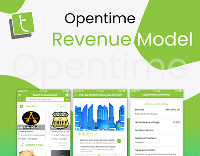 Opentime Services Pricing Table