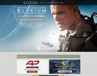Elysium Official Movie Site