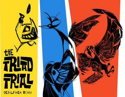 The Triad Trial - Alpaca Team - Character Design