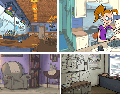 L&D Animation Layout Design: Environments & Elements