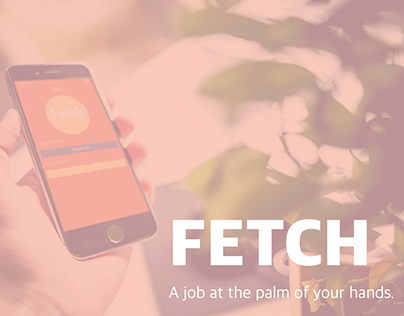 FETCH, iPhone App Design.