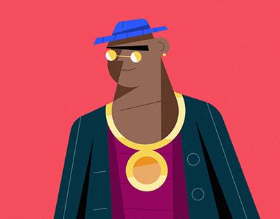 Character Design Illustration in Adobe Illustrator