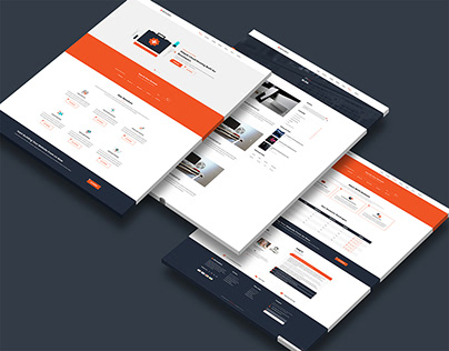 Cloud Hosting Service HTML5 Template