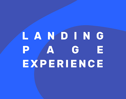 Landing Page Experience