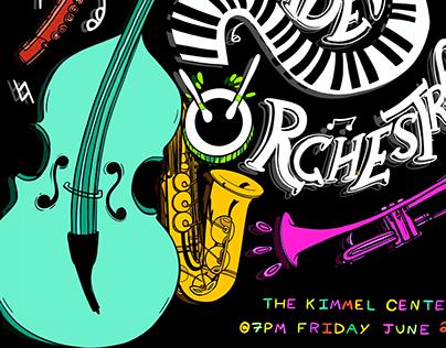 The Philadelphia Orchestra Mock Poster