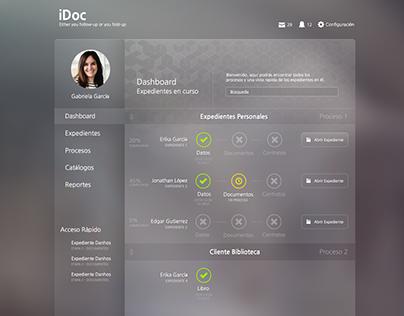 IDoc Digital Systems - UI Administration