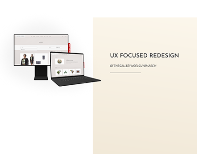UX Focused Redesign of a Gallery