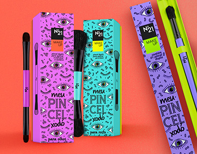 Meu Pincel Xodó • Package Design