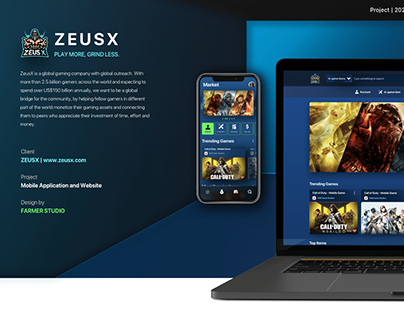 ZEUSX - Market Place for Gamers