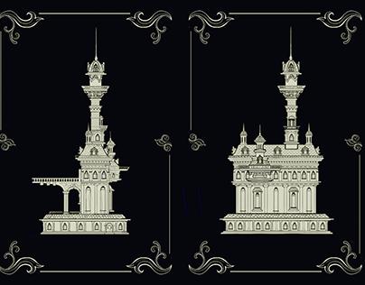 2D victorian Fire tower