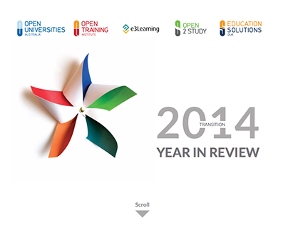 2014 Year in Review - Transition OUA, OTI, E3, ES, O2S