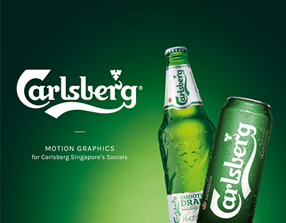 CARLSBERG MOTION GRAPHICS