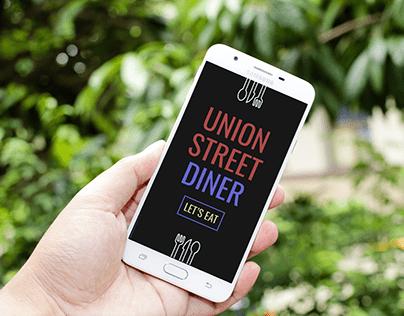 Restaurant site for mobile