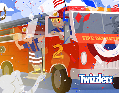 American Heroes Channel & Twizzlers Co-Brand
