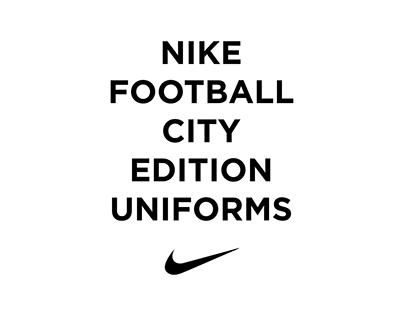 Nike Football City Edition Uniforms