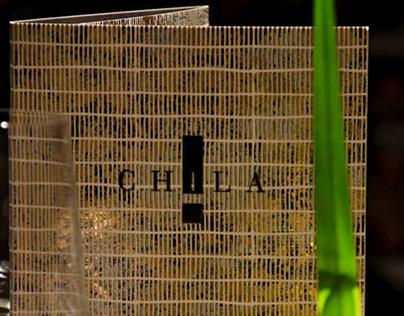 Chila Restaurant, disenno de Menues