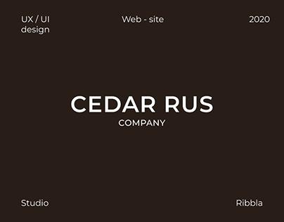 Cedar Rus | website