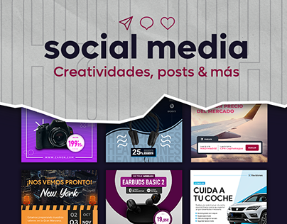 SOCIAL MEDIA - Posts | Ads