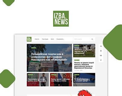IZBA.NEWS web site