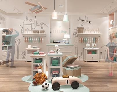 ELLE BABY_Retail design Shanghai