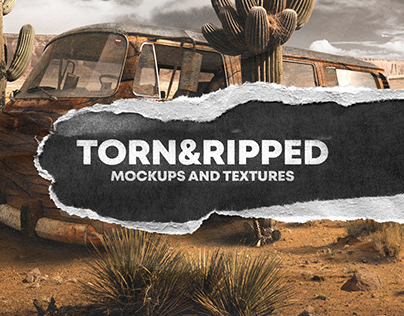 TORN & RIPPED PAPER TEXTURE PACK