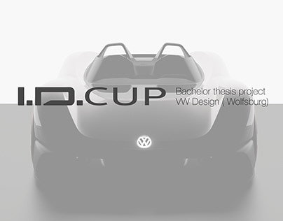 Volkswagen ID CUP (Bachelor thesis project)