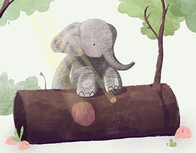 Elephants - children's book