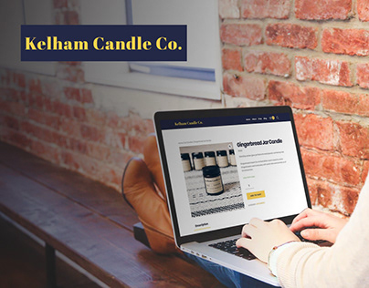 Kelham Candle Co Website Design