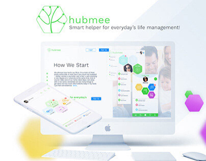 Hubmee - local social network