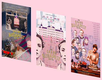 Movie Poster: The Grand Budapest Hotel