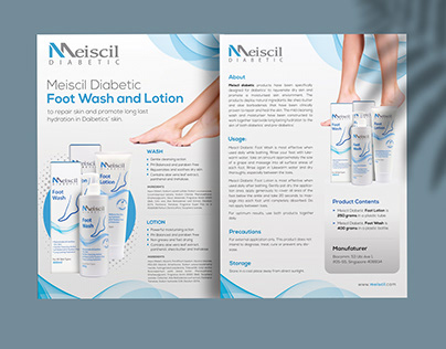 Skin Care Product Flyer Design Project
