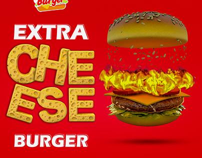 Lodon Burger - Social media design