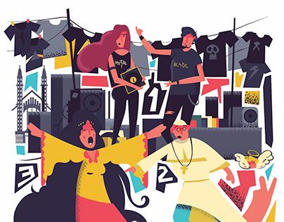Cultural Poster UNAM