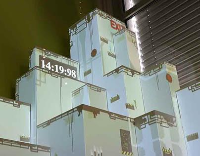 Wallo - Jeux pervasifs, videomapping