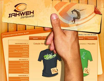 Iahweh Surfboards Website