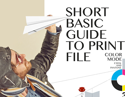Infographic - short basic guide to print file