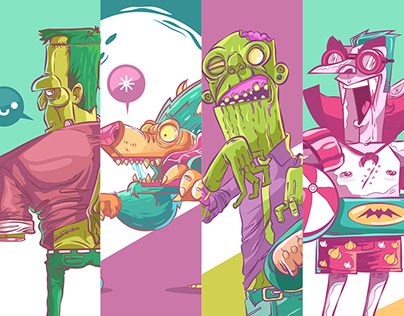 J A L O U I N - monsters