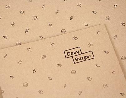 Erscheinungsbild einer Burger-Franchise