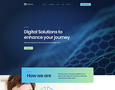 Redesign Site Portage Labs
